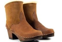 Shearling Boots & Clogs / Sandgrens Handmade Shearling boots & clogs.  / by Sandgrens Clogs