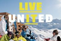 United Likers of  Val Thorens / If you want start pinning with us please send us a mail to: ilovevt@valthorens.com  / by Val Thorens