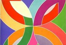 Stella (Frank Stella) / Frank Stella is an American painter and printmaker, noted for his work in the areas of minimalism and post-painterly abstraction. / by Don Johnson