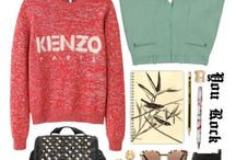Clothes & Accesories / Sean John, Calvin Klein, Donna Karan's fashion line; Valentino, YSL, Ferragamo and Chanel / by Heather Price