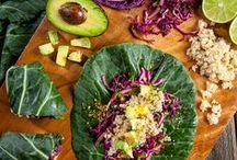 Yummy Hippie Food / Food that is actually food. Far out, man. / by Nicole Baker