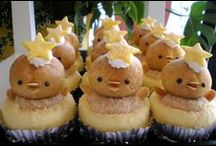 Baby Shower Cupcakes / Here are some of the cutest baby shower cupcakes and cake pops, some with recipes included. Check out these awesome cupcake ideas. / by My Baby Shower Favors