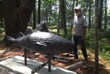 Art & Sculpture at Coastal Maine Botanical Gardens / Coastal Maine Botanical Gardens is fortunate to have a fine and varied permanent collection of sculpture on the grounds, in addition to seasonal indoor and outdoor art exhibits. / by Coastal Maine Botanical Gardens
