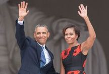 Barack Obama & Michelle / by Mary Grain