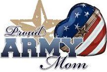 Proud Army mom / by Amy Mitchem