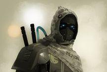 Battle Armor Ideas / by Tony D'Aurio