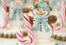 Sweet Genius: Christmas Cakes & Cookies / Christmas cakes, cookies & more / by Tracey S