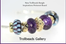 Trollbeads Bangle Inspirations / Trollbeads New Bangle released November 2012 has been a great addition to the line and here are many photos to inspire you and your use of your Bangle Trollbeads Bracelet! / by Trollbeads Gallery