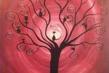 tree art / trees , leaves, vegetables and furuits / by ulya tanrıverdi