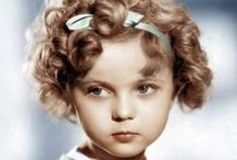 Shirley Temple ~ (1928~2014) / Cute Shirley Temple. Shirley Temple~Born on  23rd  April 1928 & Died on 10th February  2014. / by Marilyn Monroe in Colour