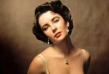 Elizabeth Taylor (1932~2011) / Brilliant actress. Elizabeth Taylor~ Born on 27th February 1932 & Died on 23rd  March 2011. / by Marilyn Monroe in Colour