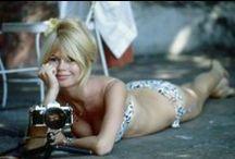 Brigitte Bardot ♥ / Stunning body. Brigitte Bardot~Born on 28th September  1934 / by Marilyn Monroe in Colour