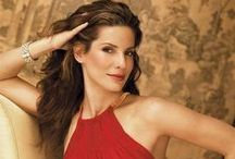 Sandra Bullock / Love Sandra as an actress, so funny in her comedy roles. Sandra Bullock~Born on  26th July 1964 / by Marilyn Monroe in Colour