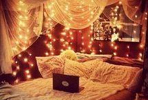 Cozy beds & reading nooks / by sandra