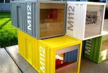 CONTAINER PROJECTS / PUTTING CONTAINERS TO BETTER USE / by Trevor Paull