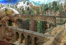 Model Train Scenery / by Model Trains