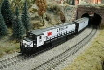Model Trains / Various images of model trains, if you are interested in learning more check out http://www.modeltrainbooks.org / by Model Trains
