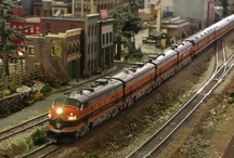 HO Model Train Layouts / by Model Trains