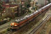 HO Model Train Layouts / by Model Trains