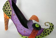 Halloween Footwear / Need the perfect shoes for your Halloween costume? Scare them all with these! / by Shoeaholics Anonymous