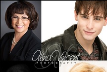 Headshot ideas / by Alina Vincent Photography