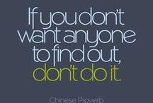 Favorite Sayings / by Josie Rinehart