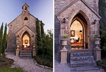 renovated churches. / when we're not renovating houses, I dream of renovating churches (sigh). / by Kym Piez