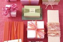 Gift Wrap/Tag Ideas / by Ann Fuqua