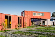 prefab, modular & containers / by Ariel Lopez