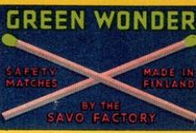 MATCHBOOKS / ...and matchboxes. / by Mark Denton