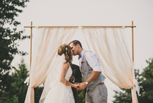 Ceremony backdrops / by Love & Lavender