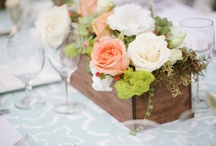 Wedding Reception Table Centerpieces / by Love & Lavender