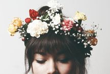I'd rather wear flowers in my hair than diamonds around my neck / by Rose Gerber