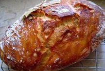 Kenyér, péksütemény - Bread / by Judit