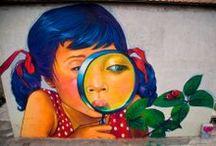 Street Art / street art in my other boards :: Axel Void ~ Banksy ~ Borondo ~ C215 ~ D*Face ~ DALeast ~ David De La Mano ~ David Walker ~ Dolk ~ Escif ~ Faith47 ~  Fin DAC ~ Fintan Magee ~ Fra Biancoshock ~ Hyuro ~ Into ~ Jef Aerosol ~ Lonac ~ Levalet ~  Ludo ~ Pablo S.Hererro ~ OakOak ~ Pejac ~ Phlegm ~ Roa ~ Sam 3 ~ Stinkfish ~ Vhils ~ Zacharevic ~ ZED1 / by Tomas Roth