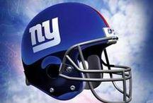 Football - New York Giants / LET'S GO GIANTS!  / by Brian Leggett