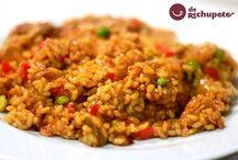 Cocinando rico arroz y pasta / by Macarena de Rus