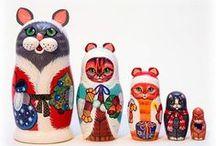 Russian Dolls / by Mal Payne