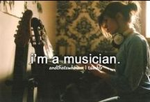Music is my life ♫ ♪ ♥ / I am a musician, music is my passion, it is what keeps me alive. <3  / by Kendra Mattson :) ♥ ♫ ♪