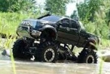 Lets Get Lifted~ Trucks / I don't just LOVE lifted trucks... I drive one.... and always will <3 / by Crystal