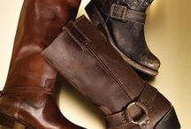 Leather Boots Bags & Shoes  / by Ellen Ross