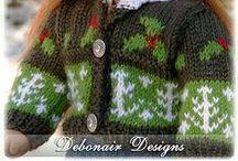 knitting 4 dolls / by Carolann Thompkins