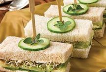 Cucumber Sandwiches / by Rhona Gb