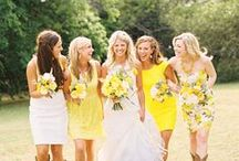 Yellow Weddings / by Wedding Paris