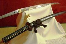 katana 刀、Tsuba 鍔、kabuto 兜 and... / by kouji