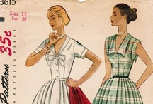 sewing: contemporary, vintage & retro patterns / by Kelly Miles