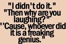 Funny Junk / Things that make me laugh. / by Lori McGarvey