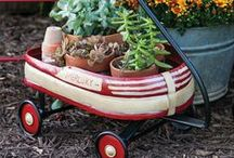 Outdoor Lifestyle / This shows the clever,whimsical & elegant ways to furnish our yards & lawns to maximize relaxing,beautiful living space. / by Gabrielle Peak