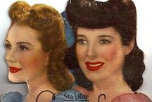 Pretty Please, Vintage Makeup, Hair and Beauty / Vintage advertisements, objects, ideas and inspiration for everyone who loves the 40s and 50s as much as I do / by Rebecca Gully