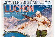Affiches anciennes / by Tourisme Midi-Pyrénées